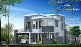 Beautiful Home Model Plans by Simple Home Designs Keralahouseplanner