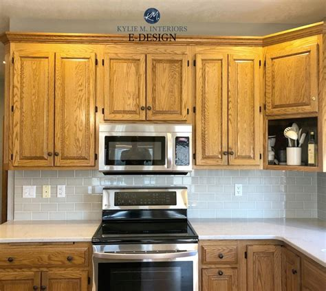 How To Update Oak Cabinets - 4 ideas how to update oak wood cabinets
