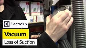 How To Fix Loss Of Suction In An Electrolux Bagless Vacuum