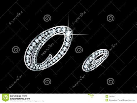 script diamond bling oo letters stock vector illustration  letter twinkle