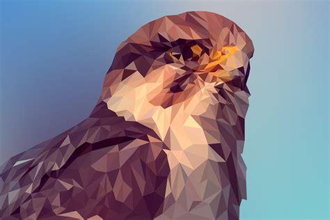 photo illustration small poly animal vector polygon art max pixel