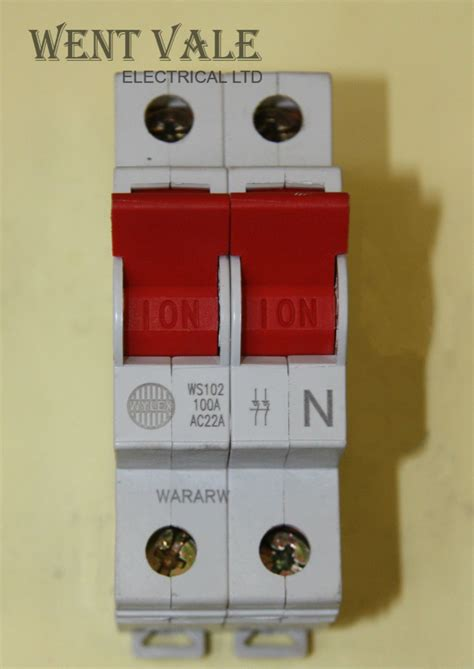 Wylex Isolator Range Aca Double Pole