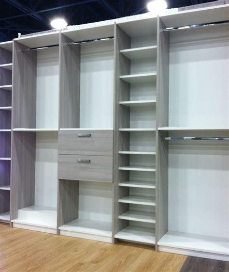 Custom Closet Components by American Closet Signature Closet Designs