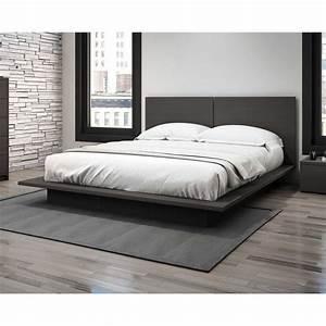 Cheap full size platform beds mattress sets bed set frames for Cost of king size mattress set