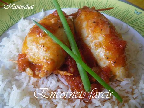 cuisine encornet encornets farcis blogs de cuisine