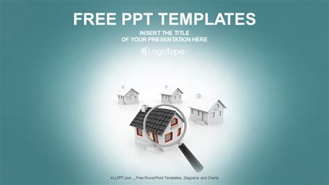 house search real estate powerpoint templates