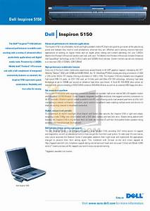 Download Free Pdf For Dell Inspiron 5150 Laptop Manual
