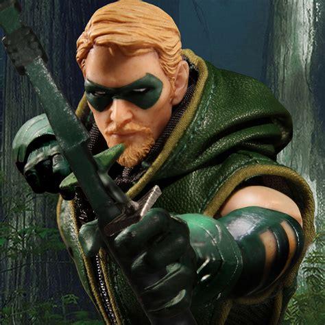 green arrow 12 one 12 collective dc comics green arrow mezco toyz