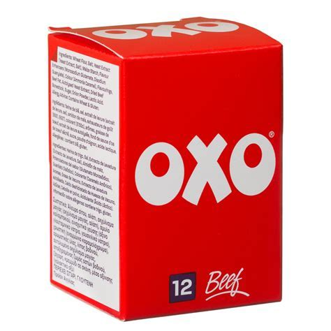 B&M OXO Cubes 12s Beef   162222   B&M
