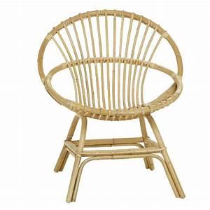 Coussin Fauteuil Rotin : fauteuil coquille en rotin brin d 39 ouest ~ Preciouscoupons.com Idées de Décoration