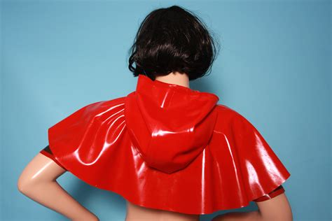 Latex Cape Little Red Riding
