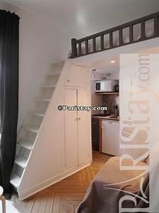 Studio Mezzanine Paris : paris location meubl e appartement type t1 etudiant studio ~ Zukunftsfamilie.com Idées de Décoration
