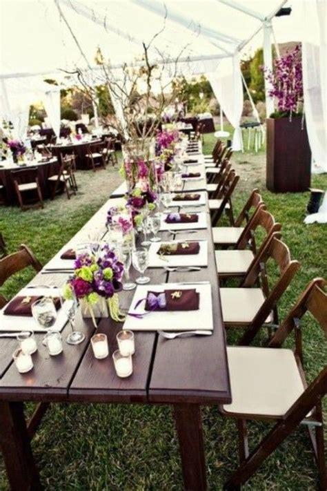 la table de mariage longue setale en  exemples