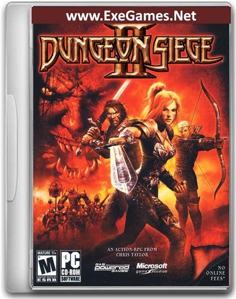 dungeon siege series dungeon siege ii free version for pc