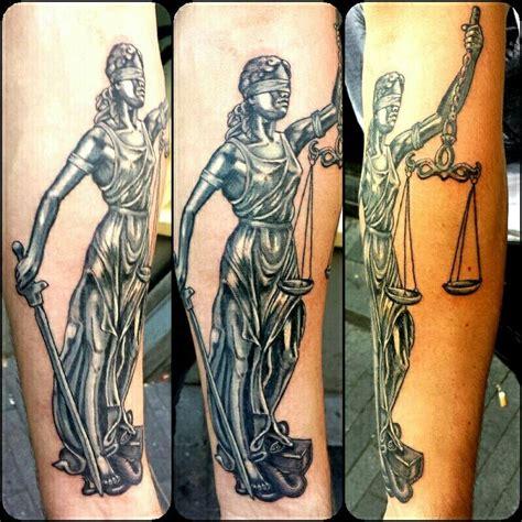 lady justice tattoo  tattoos pinterest justice