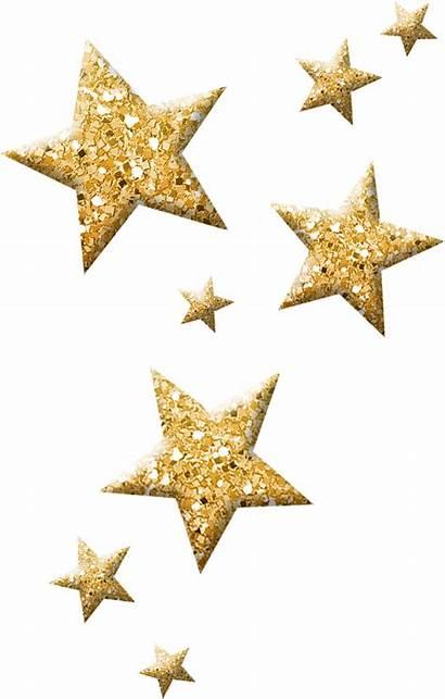 Stars Glitter Clipart Sparkling Transparent Clip Sparkles