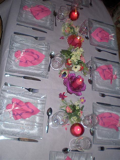 supertoinette d 233 co table de l anniversaire de ma fille