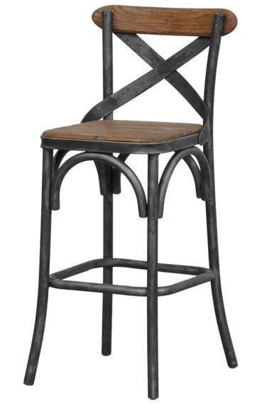 Modern Kitchen Bar Counter Stools For Sale by Details About 24 Quot Rustic Wood Counter Stool Metal Seat