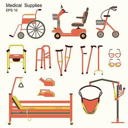 Equipment Disabled Hospital Vector Disability Medical Walker