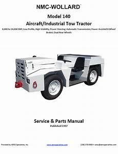 Nmc-wollard Model 140 Tow Tractor Manual