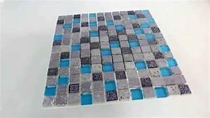 Mosaik Fliesen Blau : mosaik fliesen glas resin stein mix blau silber youtube ~ Michelbontemps.com Haus und Dekorationen