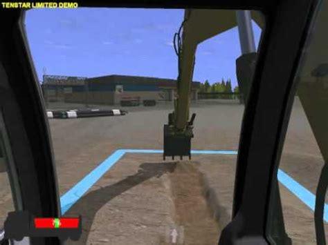 siege simulateur de conduite demo simulation pelle mécanique