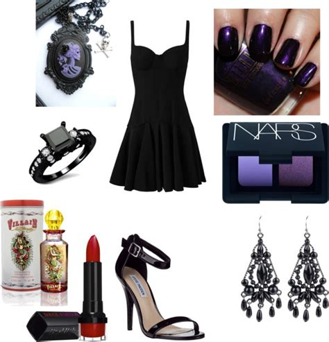 Formal Gothic Outfit