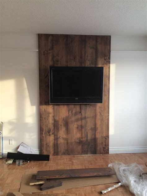 wood wall  stained floor color  grey wash