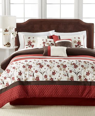 macys comforter sets 7 pc comforter set only at macy s bed in a bag