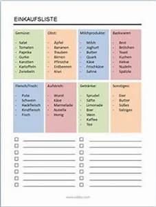 Erste Wohnung Einkaufsliste : die besten 25 einkaufsliste vorlage ideen auf pinterest einkaufsliste vorlagen to do liste ~ Markanthonyermac.com Haus und Dekorationen