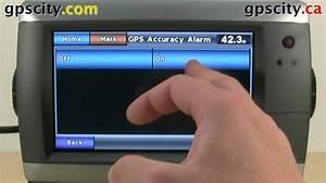 Marine Alarm Settings In The Garmin Gpsmap 720s With Gps City