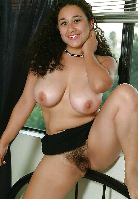 Latina With Big Natural Tits And Hairy Pussy Wants Your Cum 7 Imgs