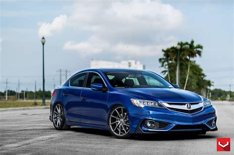 luxury acura ilx on vossen performance wheels
