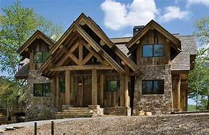 house plans for small post and beam homes and cottages With post and beam home designs