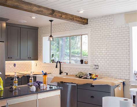 kitchen backsplashes pictures kitchen chronicles a diy subway tile backsplash part 1 2272
