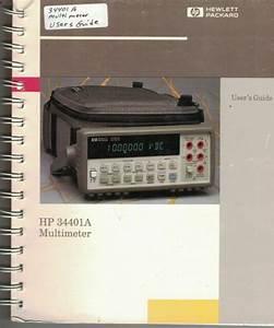 Hp Manual 34401a Multimeter Users Guide