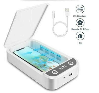 UV*Sterilizer Box Portable Phone Disinfector Personal