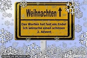 Grüße Zum 2 Advent Lustig : 2 advent gb bilder zweiter advent g stebuch bild ~ Haus.voiturepedia.club Haus und Dekorationen