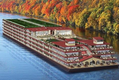 Boats Online America by Floating Cities 21st Century Style Riverboats Will Cruise
