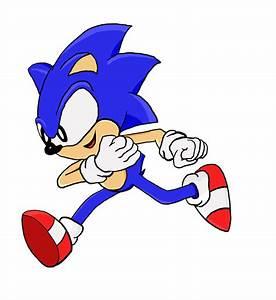 Sonic Running REALLY FAST by namatamiku on DeviantArt
