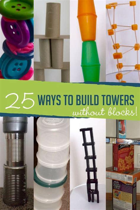 ways  build towers  blocks hands    grow