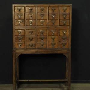 Meuble D Apothicaire : meuble d apothicaire 30 tiroirs mes d couvertes ~ Teatrodelosmanantiales.com Idées de Décoration
