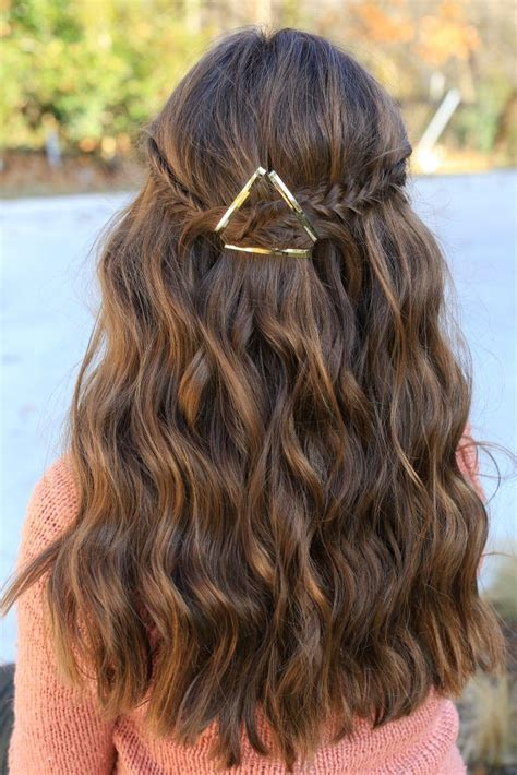 Simple hairstyle for Hairstyles For School Dance Best