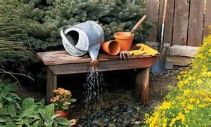 Deck Bird Bath diy outdoor water fountain