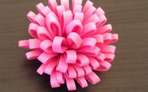 Cómo hacer una flor de goma eva estilo pompón