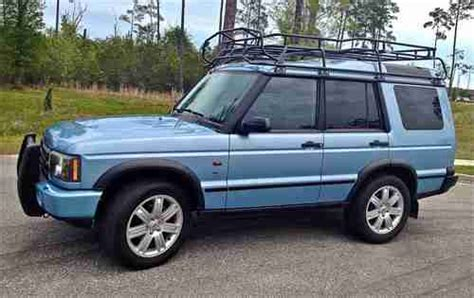blue land rover discovery sell used
