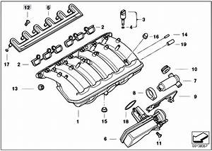 Original Parts For E39 520i M52 Touring    Engine   Intake