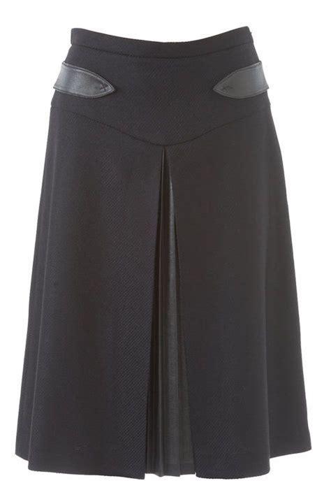 flared skirt  hip yoke     crafty