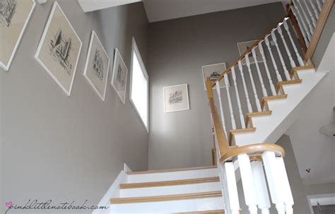 ordinary oak to simply white my staircase reveal pink