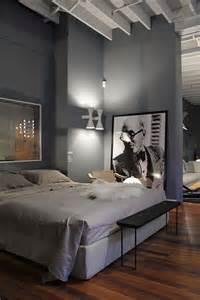 einrichtungsidee schlafzimmer schlafzimmer grau ein modernes schlafzimmer interior in grau freshouse
